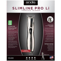 ANDIS SLIMLINE PRO LI CORDLESS TRIMMER LIGHTWEIGHT