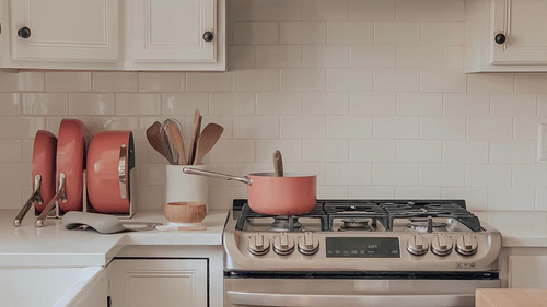 click to view How to Add a Pop of Color to Any Kitchen