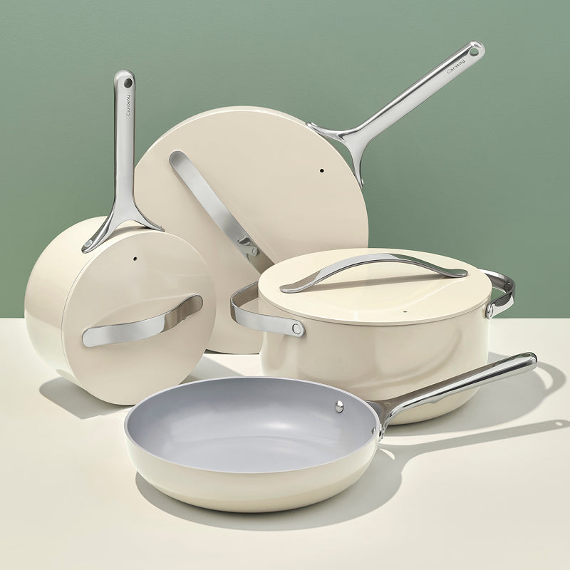 Caraway Cream Cookware Set