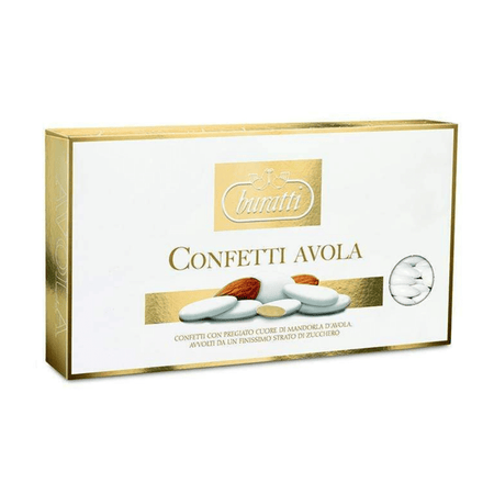 Avola Sugared Almond Golden - 1kg box BURATTI