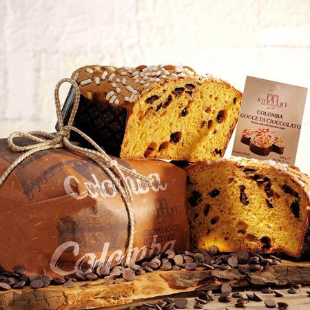 Colomba with Chocolate chips - 1Kg BORSARI