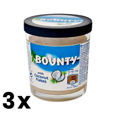 Bounty Spreadable Cream - 200g jar MARS - caramellina.com