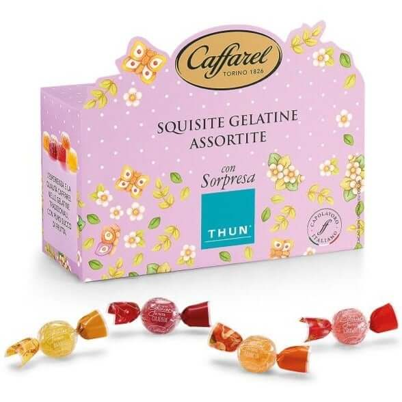 Fruit Jellies Box with a THUN surprise - 200g CAFFAREL