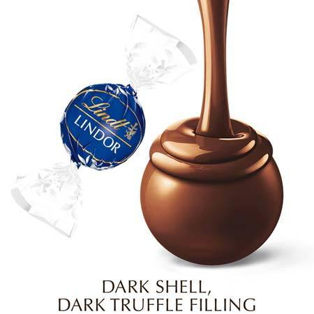 Dark Chocolate LINDOR Truffles 45%