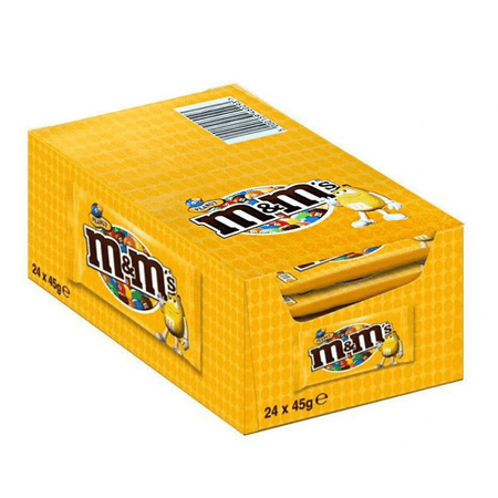 Expo M&M's Yellow 24 pcs. - 45g MARS