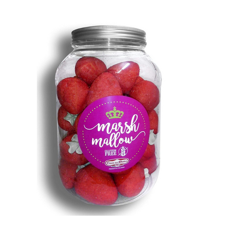 Marshmallows Strawberries - 500g jar CASA DEL DOLCE