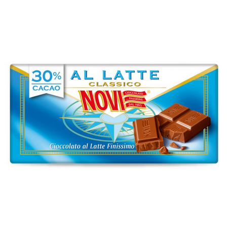 Milk Chocolate bar - 100g bar NOVI