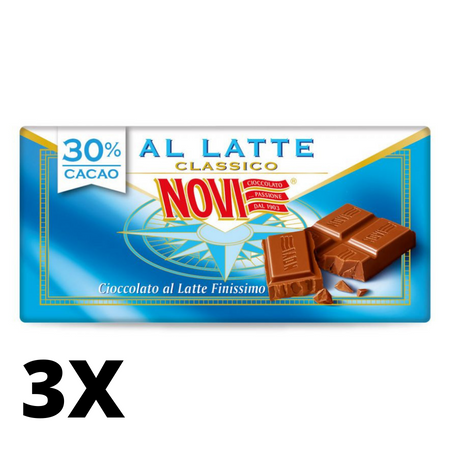 Milk Chocolate bar - 100g NOVI