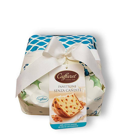 Italian Panettone without Candied Fruits - 1Kg CAFFAREL