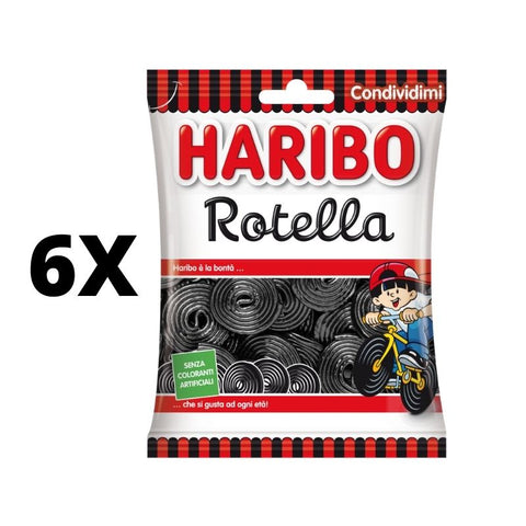 Rotella Licorice Gummies - 265g pack HARIBO
