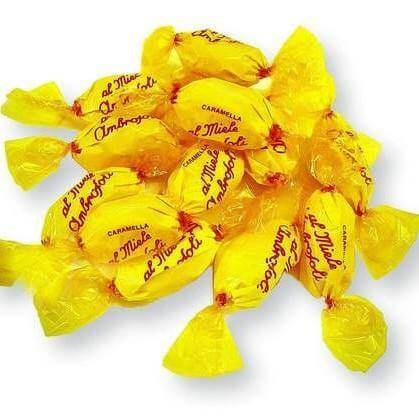 AMBROSOLI candy Filled Honey Candy - 1kg pack AMBROSOLI