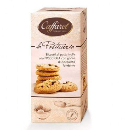 Hazelnut cookies with chocolate chips - 200g pack
