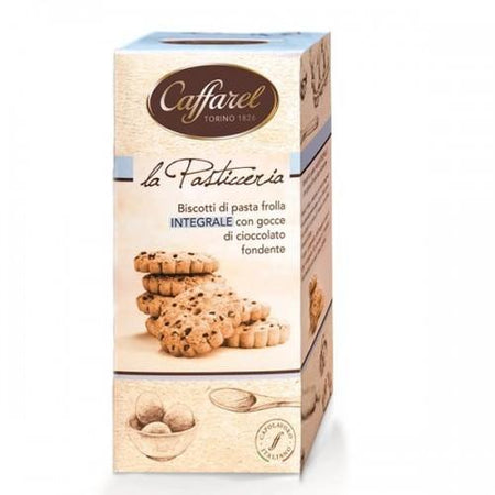 Whole cookies with dark chocolate drops - 200g pack CAFFAREL