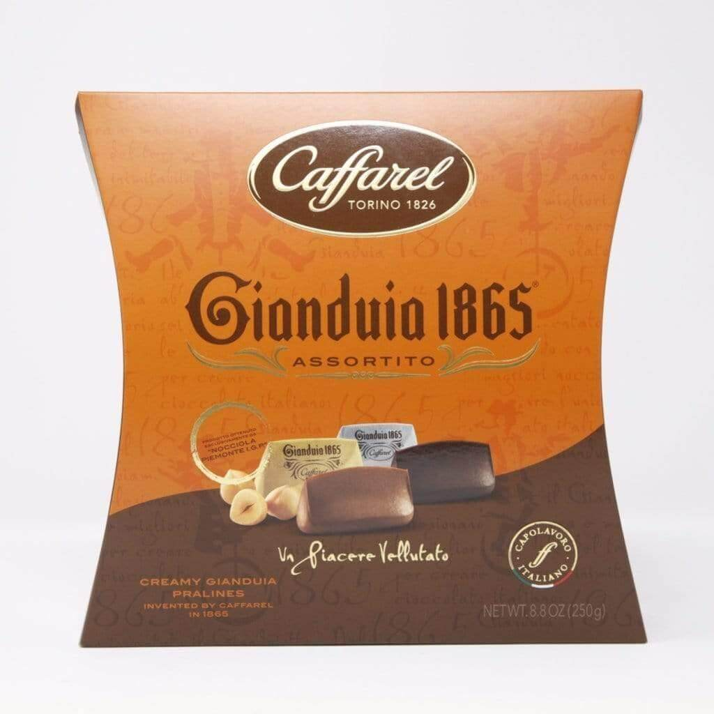 CAFFAREL chocolate Gianduia 1865 Assorted Chocolate - 250g box  CAFFAREL