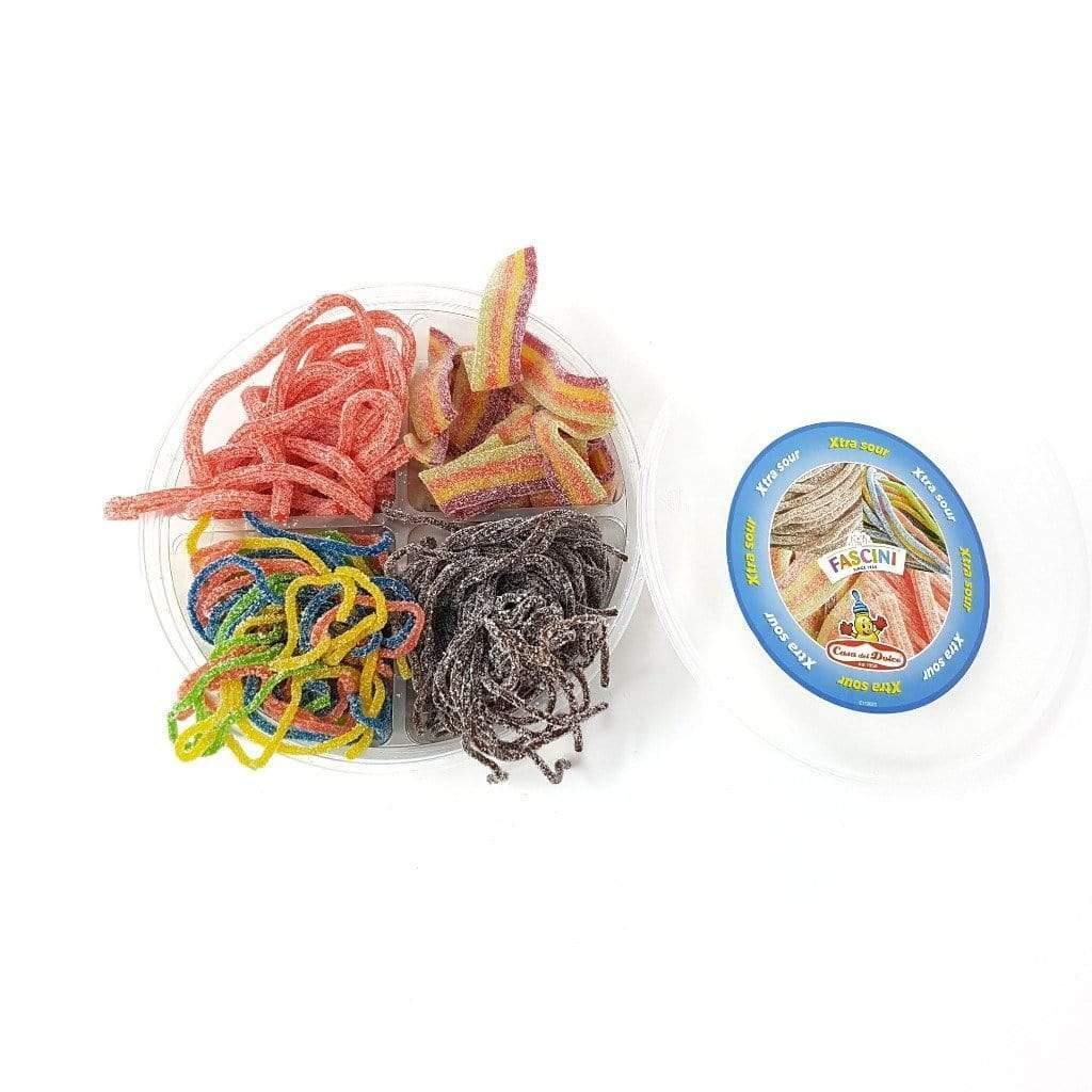 CASA DEL DOLCE candy Mixed confectionery - Extra sour laces and sticks 450g FASCINI - CASA DEL DOLCE