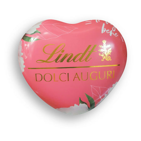 Tin Heart with milk chocolate pralines - 69g LINDT