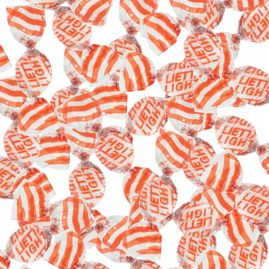 FARBO candy Lietta Light Orange Candy - 1kg pack FARBO