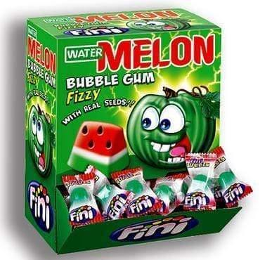FINI bubble gum Expo Bubble Gum Melon - 200 pcs. FINI