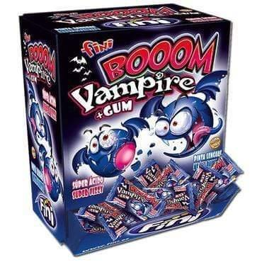 FINI bubble gum Expo Bubble Gum Vampire - 200 pcs. FINI