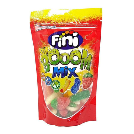 FINI candy Sour Boom Mix Gummy Jellies - 150g pack FINI