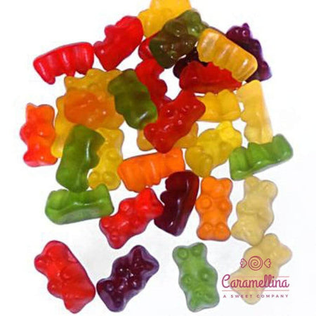 HARIBO candy Gold Bears Mixed Fruits Winegum - 1kg pack HARIBO