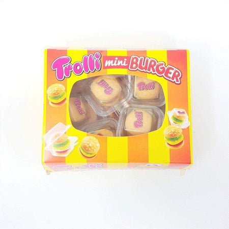 trolli candy mini burger box 150g