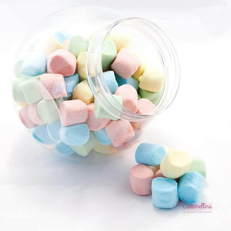 HARIBO marshmallow Chamallows Rainbollows Marshmallows - 1,05kg jar HARIBO