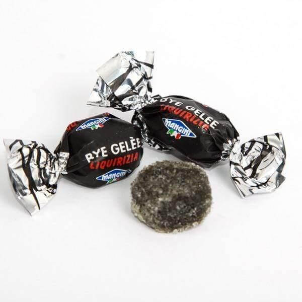 MANGINI candy Bye Bye Gelèe Licorice Candy - 1kg pack MANGINI