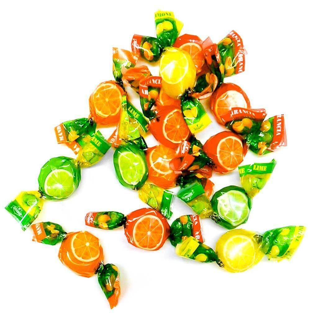 MANGINI candy Citrus Fruits Candy - 1kg pack MANGINI