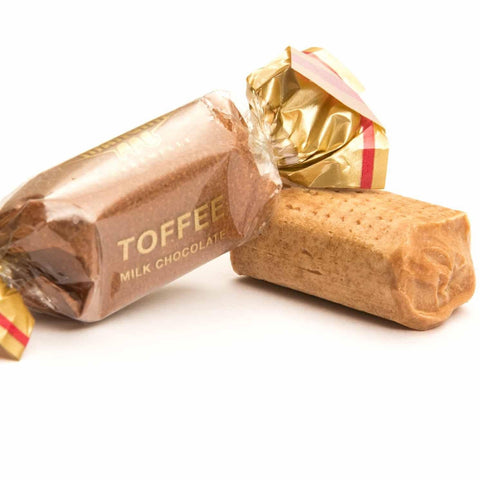 MANGINI candy Toffee Milk Chocolate Candy - 1kg pack MANGINI
