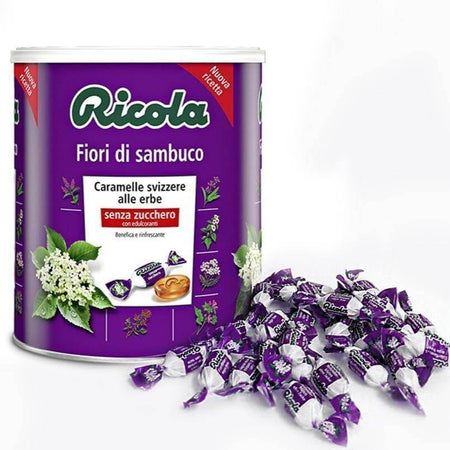 Elderflower Candy - 1kg jar RICOLA