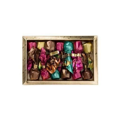 VENCHI chocolate Assorted Chocolate Truffles gold box - 125g VENCHI