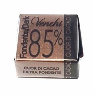 VENCHI chocolate Cubotto Extra Dark Chocolate 85% - 1kg pack VENCHI
