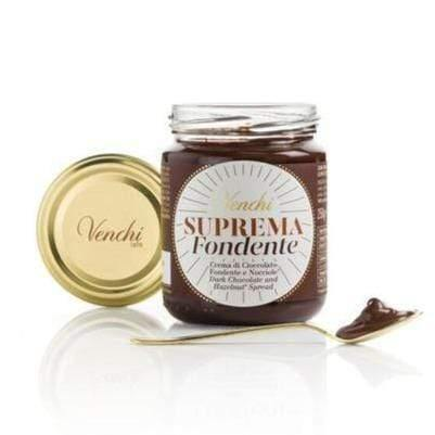 VENCHI spreadable cream Suprema Dark Chocolate Spreadable Supreme Cream - 250g jar VENCHI