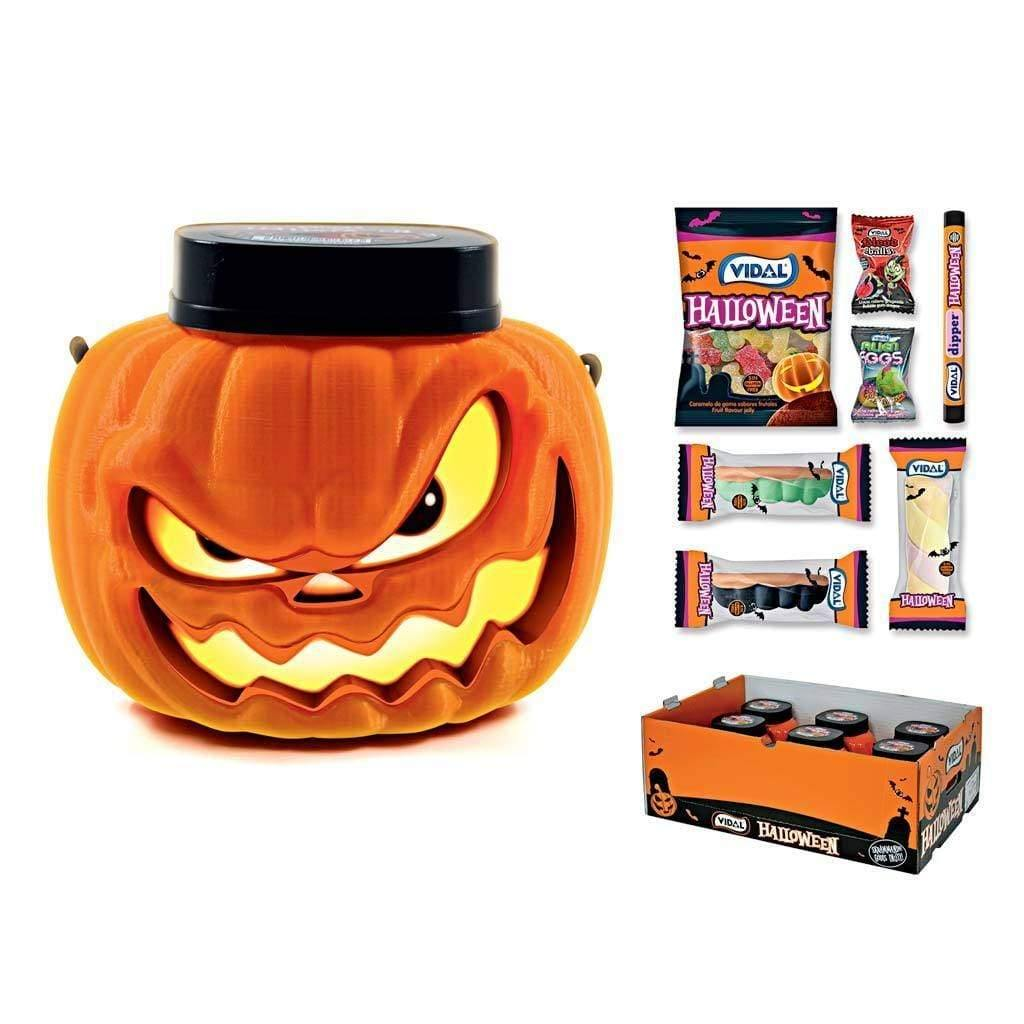 VIDAL candy Halloween Pumpkin Head - 200g VIDAL