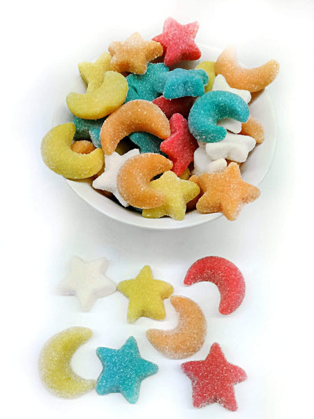 VIDAL candy Moons and Stars Assorted Gummies - 1kg pack VIDAL