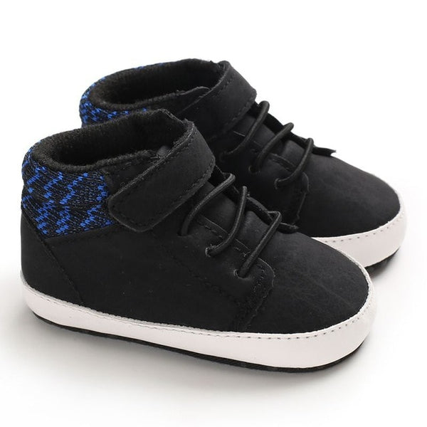 Baby Boy Classic Canvas Shoes - Les Meridien
