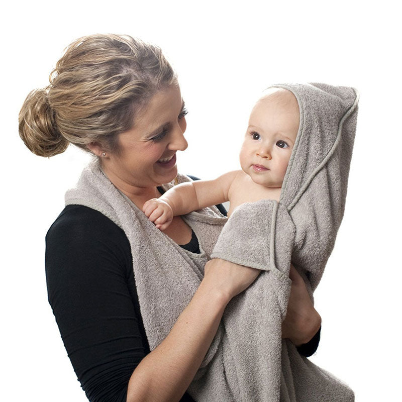 Combed Cotton Baby Bath Towel Hooded hooded Towel - Les Meridien