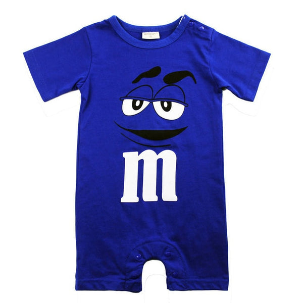 Baby Boy Romper Short Sleeve Cotton Jumpsuit - Les Meridien