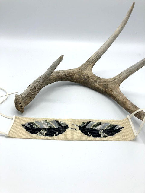Short Feather Band -