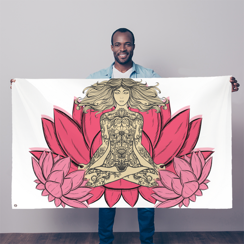 - Yoga Stile - Sublimation Flag