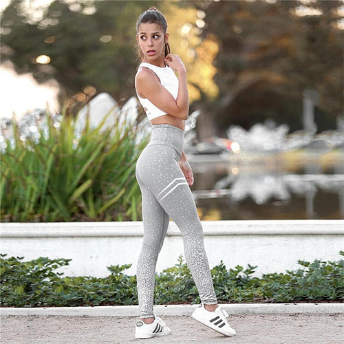 Yoga Set Leggings Push Up Yoga Hose