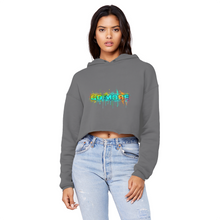 Laden Sie das Bild in den Galerie-Viewer, Go for More Unisex Cropped Raw Edge Boyfriend Hoodie