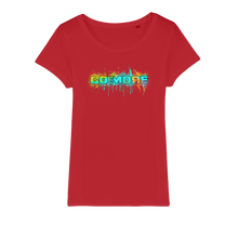 Laden Sie das Bild in den Galerie-Viewer, Go for More Organic Jersey Womens T-Shirt