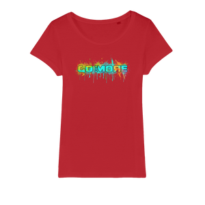 Go for More Organic Jersey Womens T-Shirt