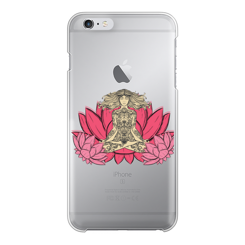 - Yoga Stile - Back Printed Transparent Hard Phone Case