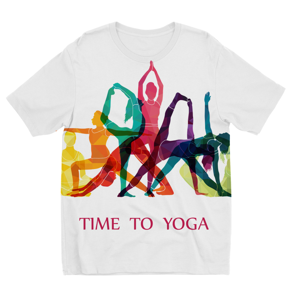 Time to Yoga Sublimation Kids T-Shirt