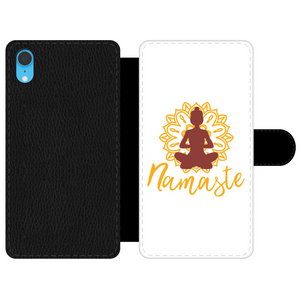- Namaste - Front Printed Wallet Cases