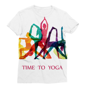 Time to Yoga Classic Sublimation Women's T-Shirt