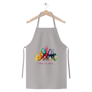 Time to Yoga Premium Jersey Apron